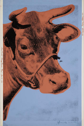 Andy Warhol (1928-1987); Cow;