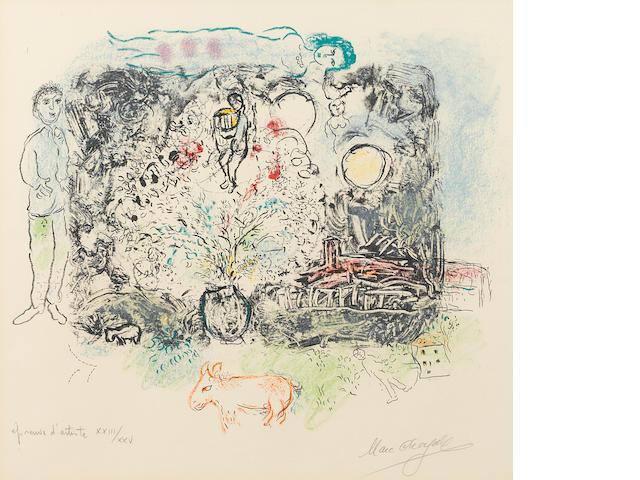 Marc Chagall (1887-1985); La Féerie;