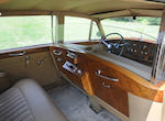Original left hand drive, U.S. delivery formerly owned by Sarah Jeffords and three owners from new,1958 Rolls-Royce Silver Cloud Long Wheelbase Sedan with Division  Chassis no. LBLC4 Engine no. C4B
