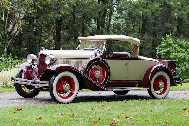 1931 Chrysler CM Roadster  Chassis no. 6528008 Engine no. CM17694