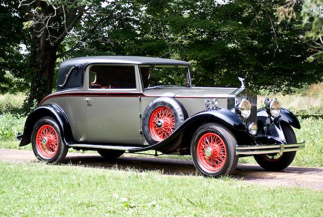1931 Rolls-Royce 20/25hp Close Coupled Fixed Head Coupe  Chassis no. GNS 29 Engine no. A4H