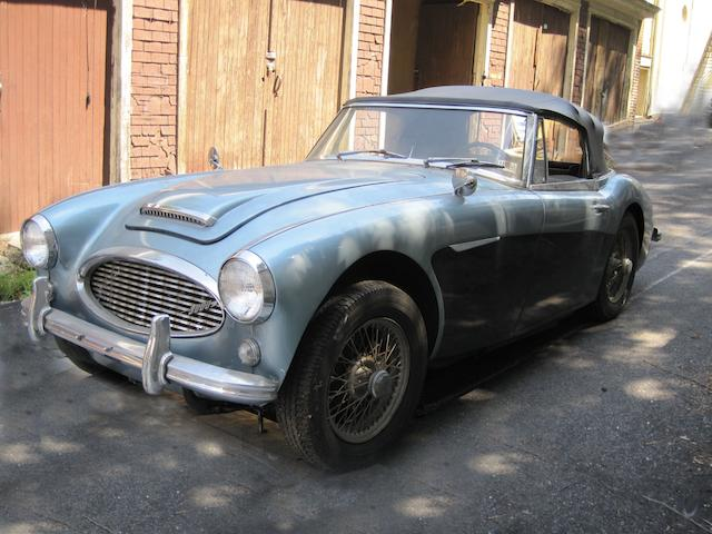 1964 Austin Healey 3000 MkII Convertible  Chassis no. HBJ7L 23894
