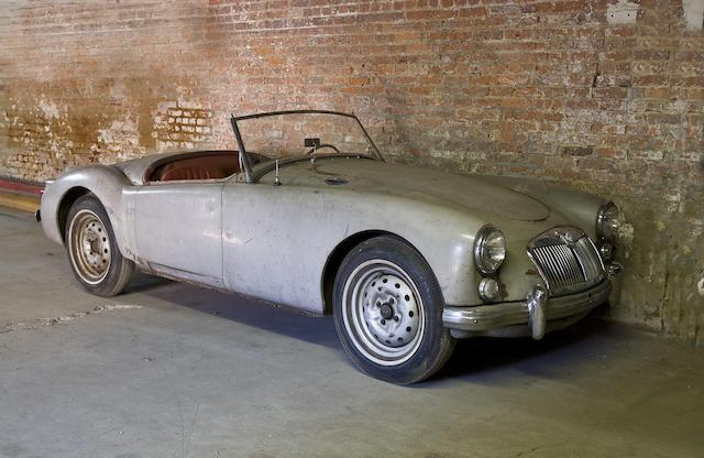 Barn discovery,1960 MGA 1600 Roadster  Chassis no. GHNL/73395 Engine no. 16GA/U/4662