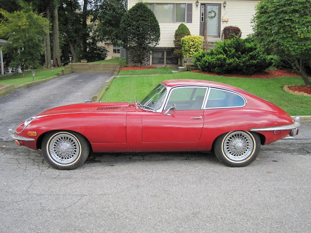 1970 Jaguar XKE Coupe  Chassis no. 1R27810