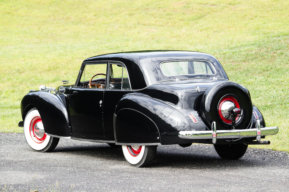 1941 Lincoln Continental Club Coupe  Chassis no. H115120