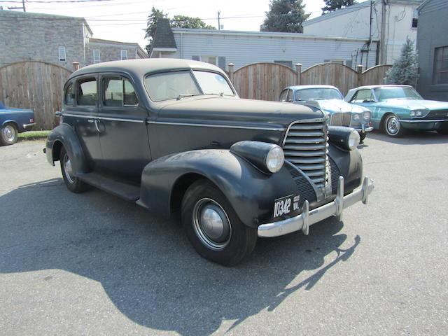 1938 Oldsmobile Series F Six Sedan  Chassis no. F861762
