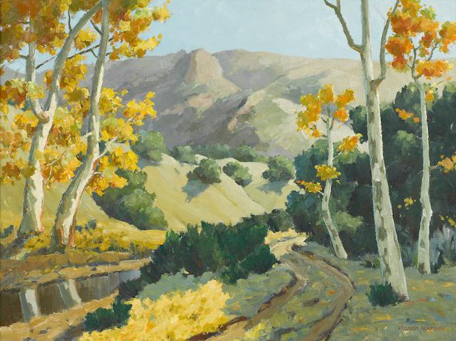 Victor Matson (American, 1898-1972) Landscape 17 3/4 x 24in