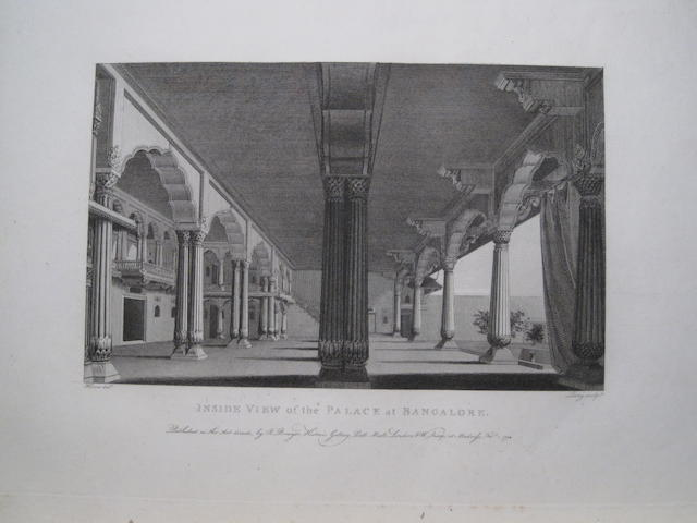 HOME, ROBERT. C.1750-1836. Select Views in Mysore, the Country of Tippoo Sultan. London: Bowyer, 1794.