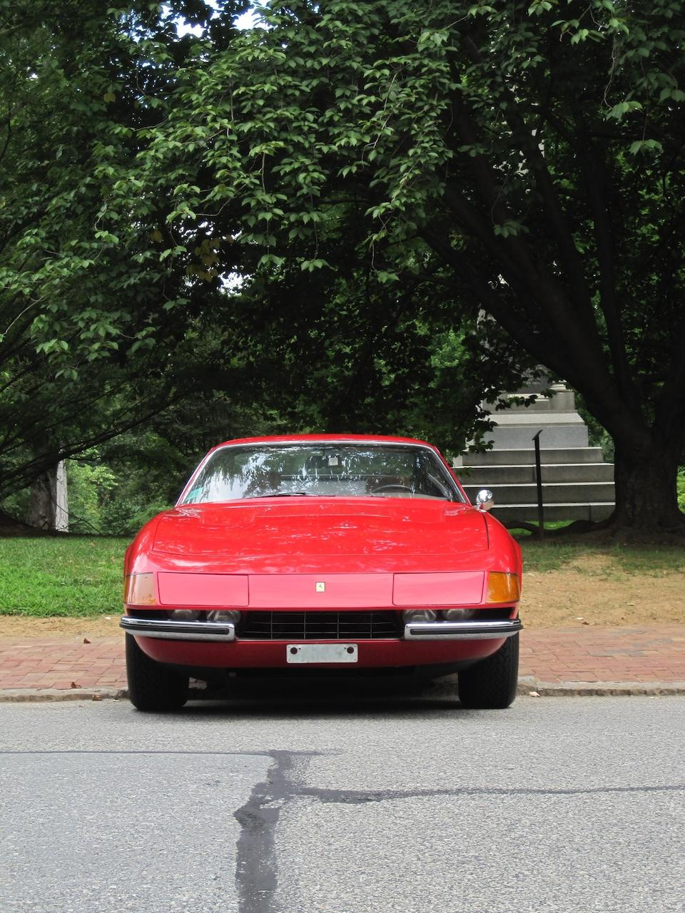 26,000 miles from new, US supplied, long term first ownership,1973 Ferrari 365 GTB/4 Daytona Coupe   Chassis no. 16221