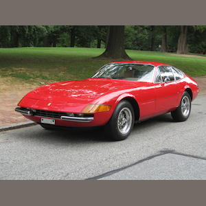 26,000 miles from new, US supplied, long term ownership,1973 Ferrari 365 GTB/4 Daytona Coupe   Chassis no. 16221
