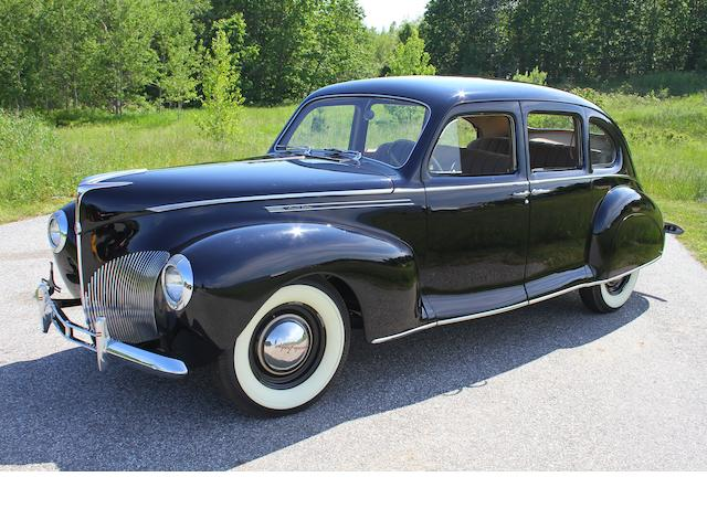 From the estate of Eugene Beardslee,1940 Lincoln Zephyr Sedan  Chassis no. H-90331