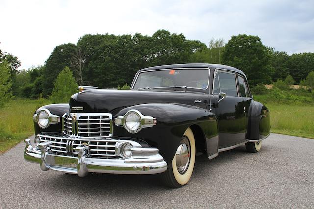 From the estate of Eugene Beardslee,1948 Lincoln Continental Club Coupe