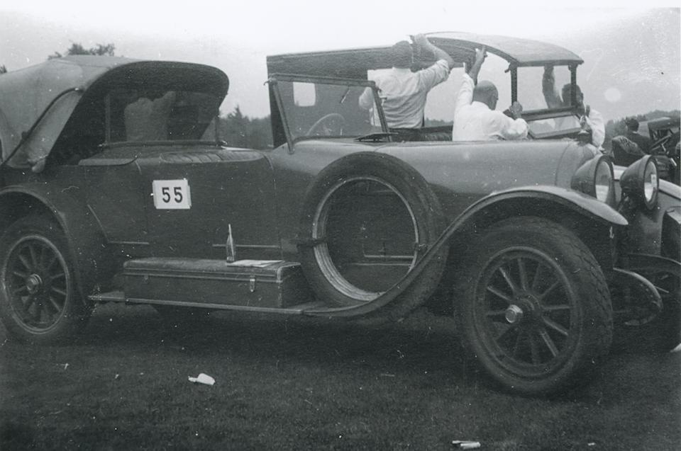Ex-Cameron Bradley, Robert Valpey,1917 Simplex Crane Model 5 Dual-Cowl Victoria Phaeton  Chassis no. 2333