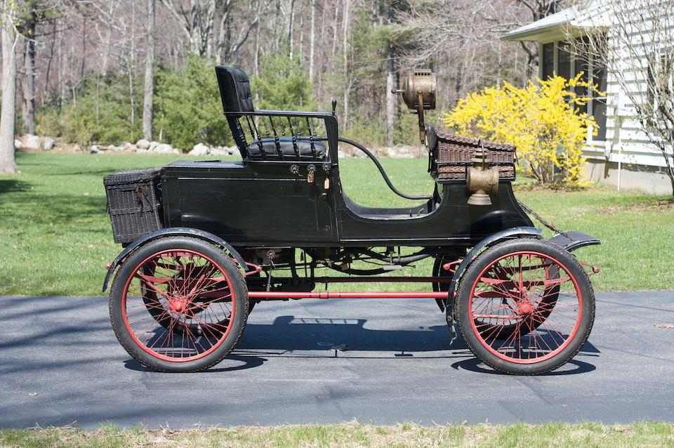 Three owners from new,1902 Stanley Type A Spindle Seat Runabout  Chassis no. 146 Engine no. 219