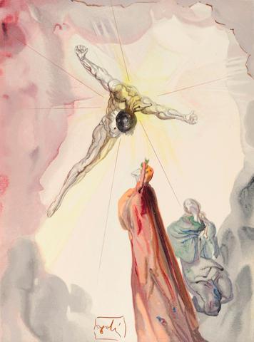 Salvador Dalí (1904-1989); La Divine Comédie;