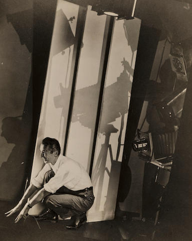 Edward Steichen (1879-1973); Self-Portrait with Photographic Paraphernalia, for Vanity Fair;