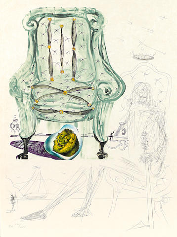 Salvador Dalí (1904-1989); Imaginations and Objects of the Future;