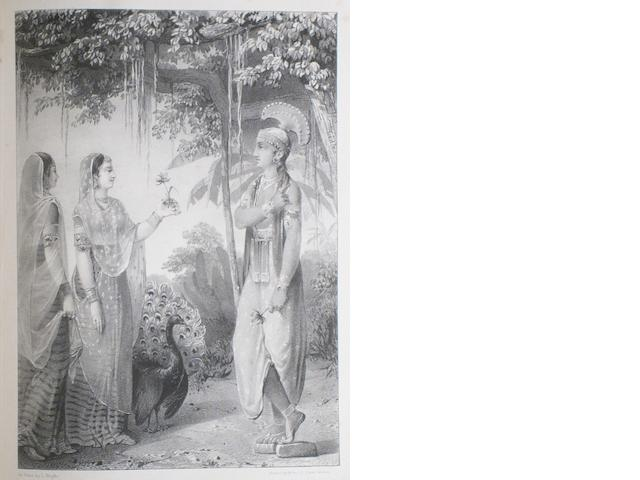 TOD, JAMES. 1782-1835. Annals and Antiquities of Rajas'than. London: Smith, Elder, 1829-1832.