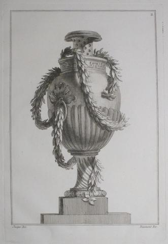 JACQUES, MAURICE. 1712–1784. Vases nouveaux. Paris: Daumont, [c.1760].
