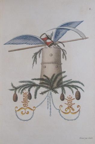 GENLIS, STEPHANIE DE. 1746-1830. Arabesques mythologiques, ou les attributs de toutes les divinités de la fable. Paris: Charles Barrois, 1810.