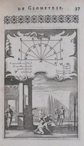 LE CLERC, SEBASTIEN. 1637–1714. Pratique de la geometrie, sur le papier et sur le terrain. Paris: Jean Jombert, 1682.