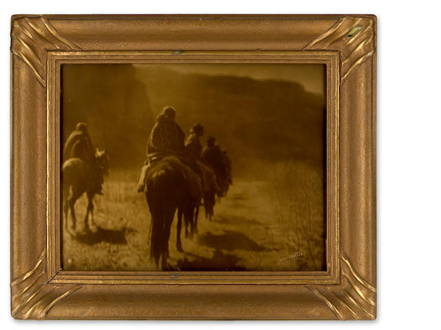 Edward S. Curtis (1868-1952); The Vanishing Race, Navaho;