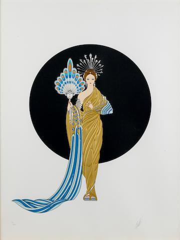 Erté (Romain de Tirtoff) (Russian, 1892-1990); Athena;