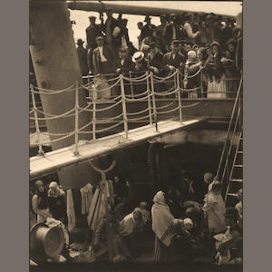 Alfred Stieglitz (1864-1946); The Steerage;