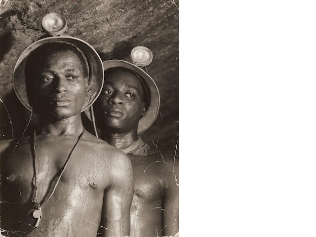 Margaret Bourke-White (1904-1971); South African Gold Miners;