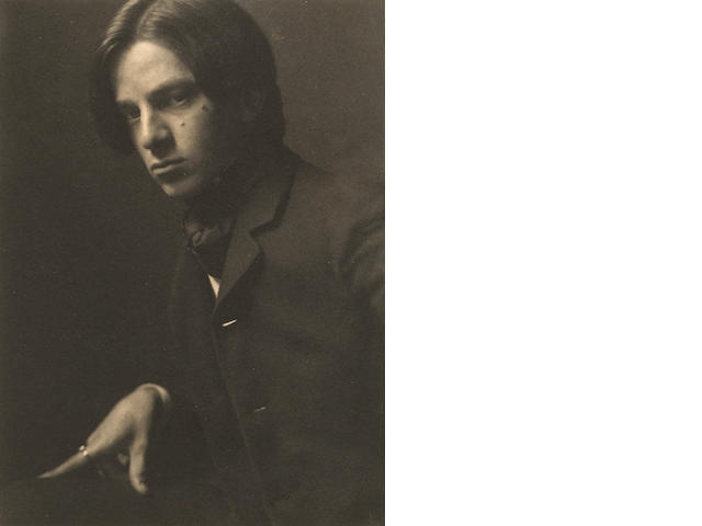 Alvin Langdon Coburn (1882-1966); Self-Portrait at Age 23;