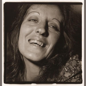 Diane Arbus (1923-1971); Germaine Greer, Feminist in Her Hotel Room, N.Y.C.;