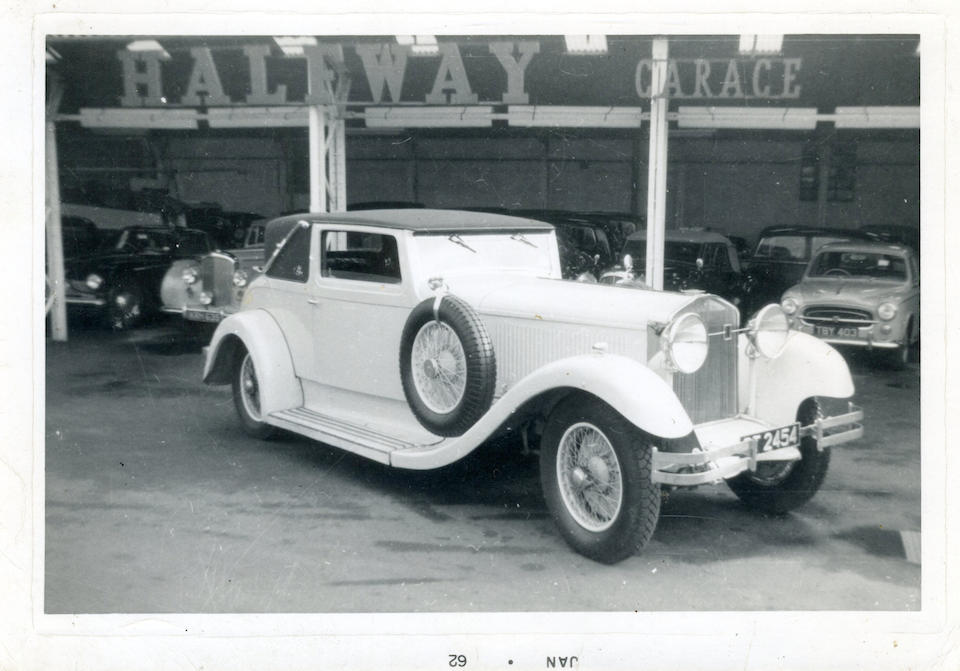 Ex-Nathan Clark and Gerry Albertini, one-of-two Lancefield bodied Isottas, offered publicly for the first time since 1961,1931 Isotta Fraschini Tipo 8A Two-Door Faux Cabriolet  Chassis no. 1677 Engine no. 1677