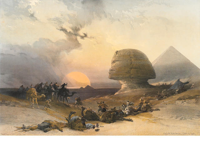 David Roberts (1796-1864); Selected Plates, from Egypt and Nubia;