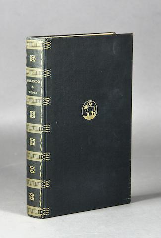 WOOLF, VIRGINIA. 1882-1941. Orlando, A Biography. New York: Crosby Gaige, 1928.
