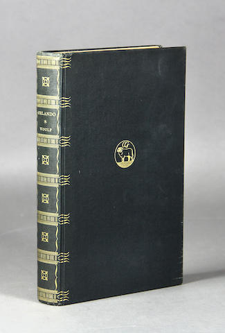 WOOLF, VIRGINIA. 1882-1941. Orlando, A Biography. New York: Crosby Gaige, 1928.