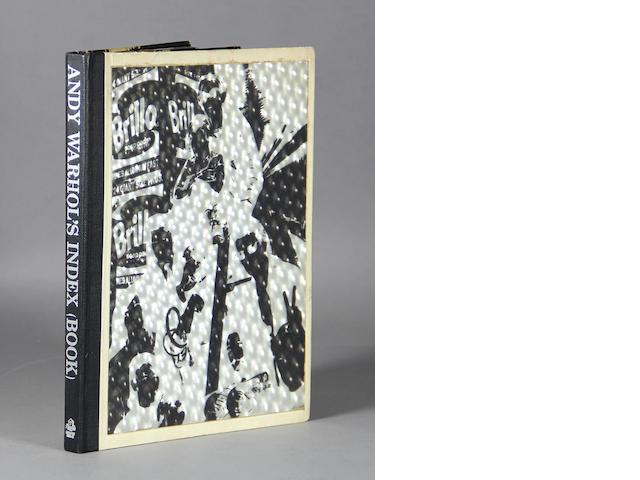 WARHOL, ANDY.  1928-1987. Andy Warhol's Index Book. New York: Random House, 1967.