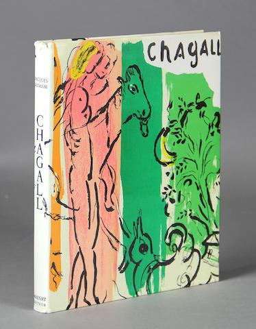[CHAGALL, MARC. 1887-1985.] LASSAIGNE, JACQUES. Chagall. [Paris]: Maeght Editeur, [1957].