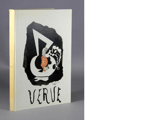 VERVE. Verve. Paris: Editions de la Revue Verve, [1952].