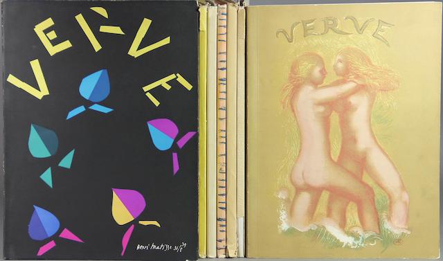VERVE. Verve. Paris: Editions de la Revue Verve, 1937-1950.