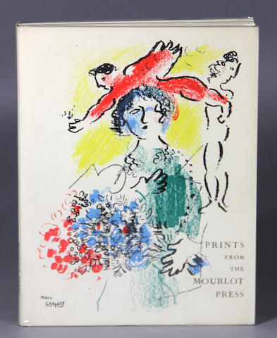 [PICASSO, PABLO, MARC CHAGALL, and others.] Prints from the Mourlot Press. [Paris: Mourlot, 1964.]