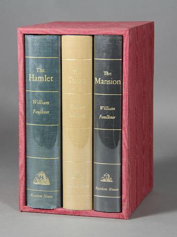 FAULKNER, WILLIAM. 1897-1962.