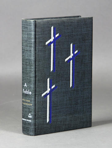 FAULKNER, WILLIAM. A Fable. [New York]: Random House, [1954].