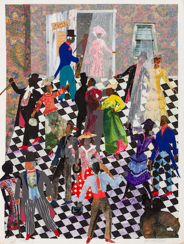 Allen Stringfellow (born 1929) Da Party, 1994 28 1/2 x 21 1/2in. (72.4 x 54.6cm)