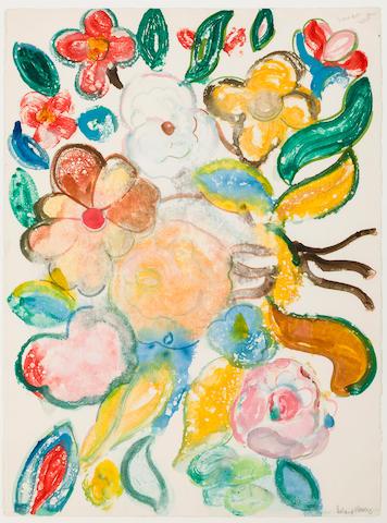 Romare Bearden (1914-1988) Island Flowers, circa 1980s 30 x 22in. (76.2 x 55.9cm)