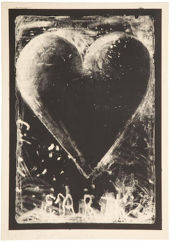 Jim Dine (born 1935); The Black Heart;