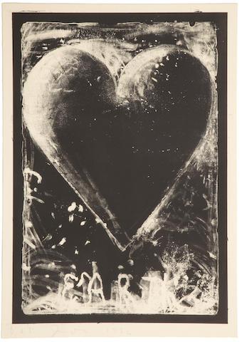Jim Dine (born 1935); The Black Heart;