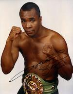 Hublot. The unique Sugar Ray Leonard WBC chronograph wristwatchKing Power, Ref:703.OM.0218.HR.WBC12