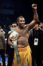 Hublot. The unique Lennox Lewis WBC chronograph wristwatch King Power, Ref:703.OM.0218.HR.WBC12