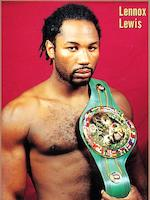 Hublot. The unique Lennox Lewis WBC chronograph wristwatch King Power, Ref:703.OM.0218.HR.WBC12