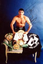 Hublot. The unique Jeff Fenech WBC chronograph wristwatch King Power, Ref:703.OM.0218.HR.WBC12